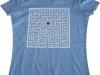 Nadruk na koszulce wykonany za pomocą plotera i foli flex