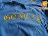 Koszulka z nadrukiem flokiem transferowym