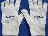 Rękawiczki monterskie z nadrukiem flokiem transferowym