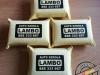 Gąbka z irchy syntetycznej z nadrukiem folią flex - LAMBO