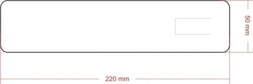 Wykrojnik do zakładek flokowanych (nr 3) - poziomo