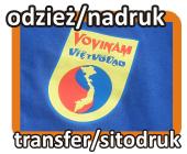 Nadruk transferowy na odzieży